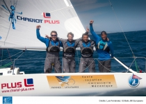 "France's ""EV Cataschool"" records a huge surprise at El Balis' waterfront and wins the J80 European championship for the first time"